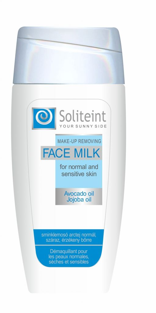 Soliteint Make-up Removing Face Milk